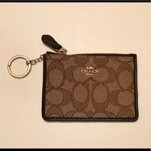 Coach Key Chain Wallet